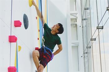 Upwall Climbing