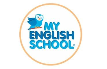 My english school logo